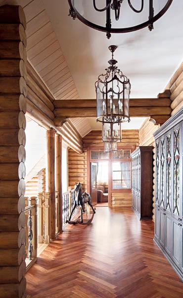 Design dell 39 interno della casa di legno - Interno case in legno ...