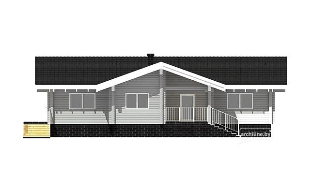 Casa di legno lamellare in stile nord europeo 156 m2 for Piani di casa in stile nord ovest