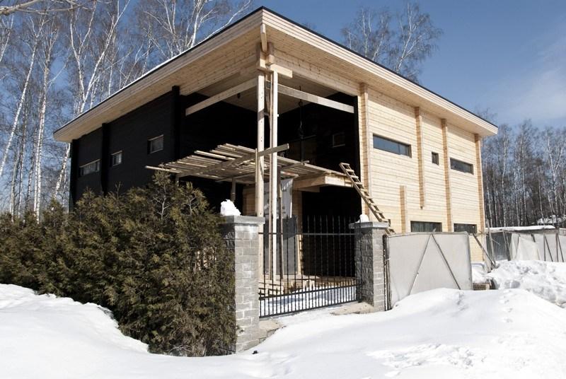 Latest spesso le case con tetti piani sono costruite da for Piani di casa sul tetto per costruire