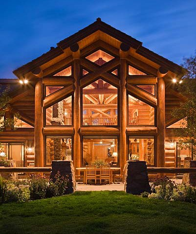 idee erronee sull 39 elevata infiammabilita delle case di legno On persiane delle finestre di log cabin