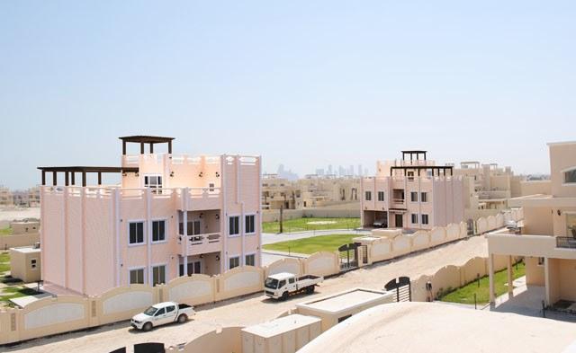 Il progetto di una casa in legno realizzata a doha qatar for Progetto casa in legno pdf