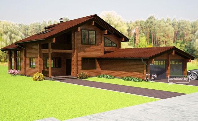Progetti di case in legno for Case di legnosr