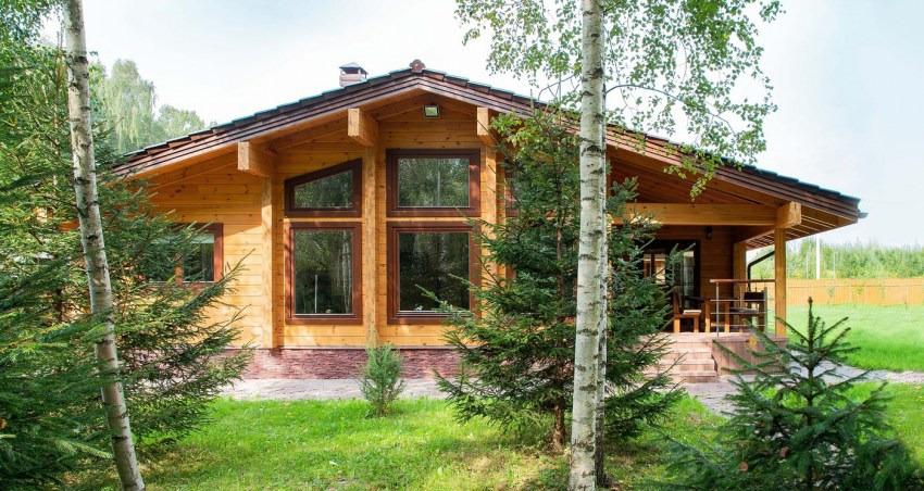 Casa di campagna in legno 192 m2 for Progetti di case in campagna