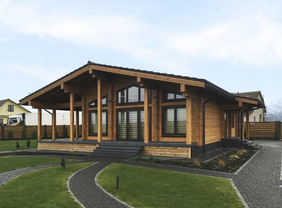Casa in legno lamellare stels 120 m for Cercatore di progetti di casa