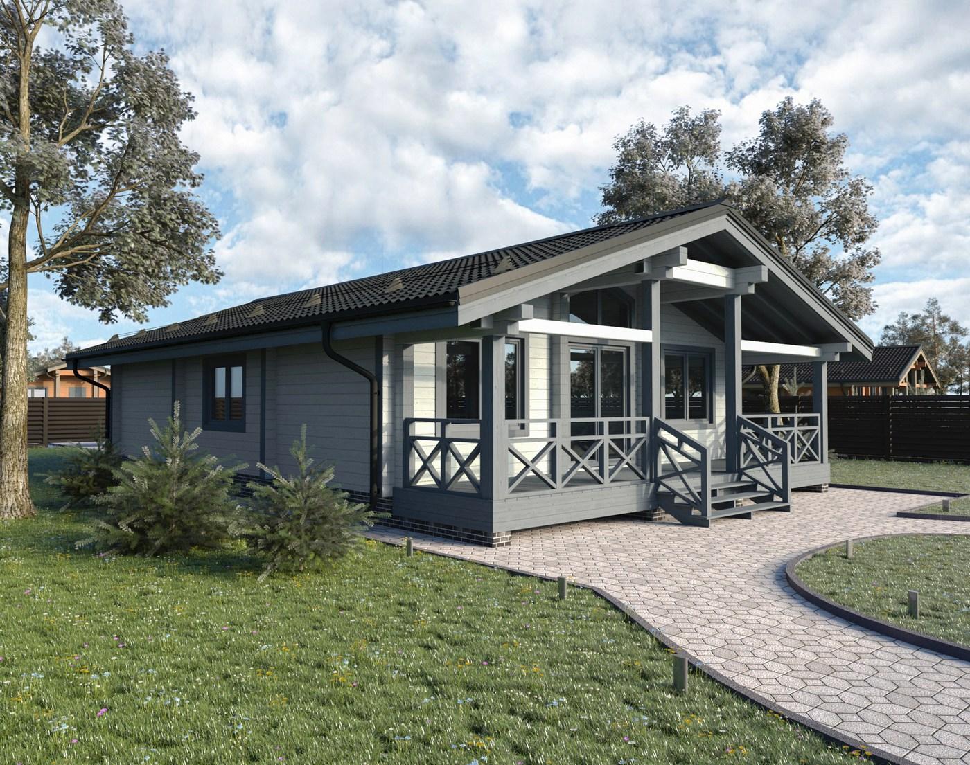 Tipico progetto di casa in legno lamellare impiallacciato for Progetto casa in legno pdf